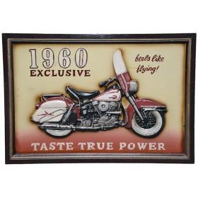 панно  Мотоцикл 1960